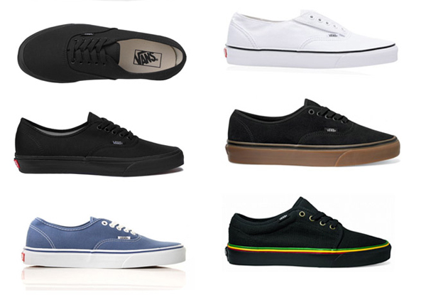 Vans Example 2 Convert Your Shoe Size